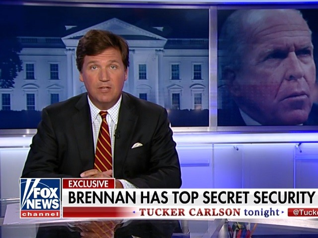 Tucker Carlson: MSNBC's 'Out-of-the-Closet Extremist' John Brennan Still Has Top Security Clearance
