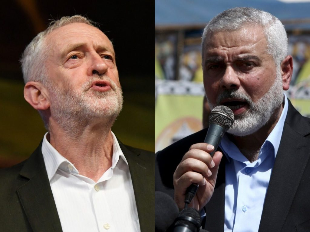 Jeremy Corbyn Joined Hamas Terrorists at Middle East Conference