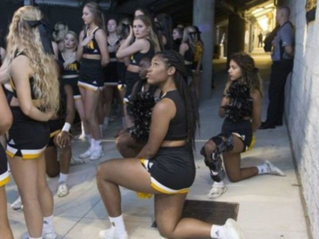 Kennesaw State Cuts 4 of 5 Cheerleaders Who Took a Knee During Anthem Last Year