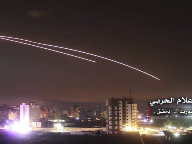 IDF Releases Footage of Largest Syria Strike in Decades