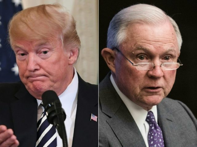 Trump on Jeff Sessions Recusing Himself: 'What Kind of Man Is This?'