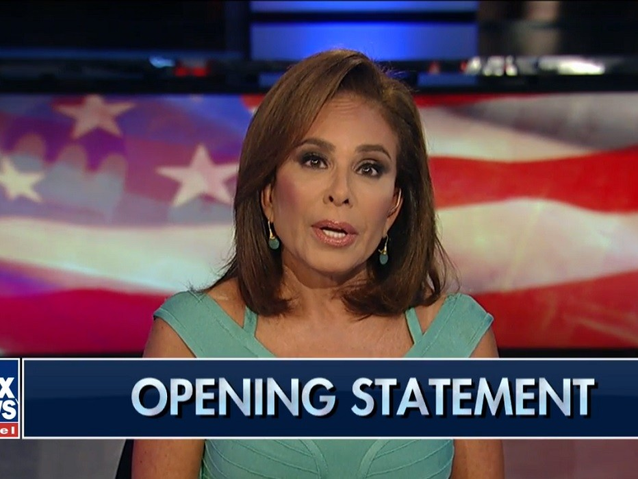 Judge Jeanine to Robert Mueller: 'Give Up Your Phony Investigation and Get Yourself Your Own Criminal Defense Attorney'