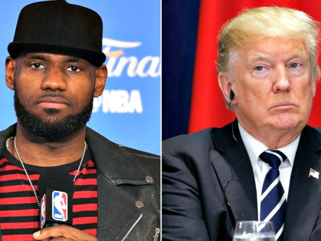 ESPN's 'First Take' on Trump-LeBron Feud: 'Of Course This Is About Race'