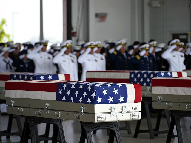 Photos: Remains of Korean War Dead Honored During Repatriation Ceremony