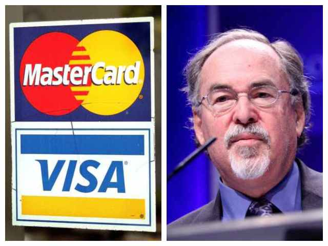 David Horowitz: Visa, Mastercard Cut Off Payments to My Think Tank Based on SPLC 'Hate Group' Label