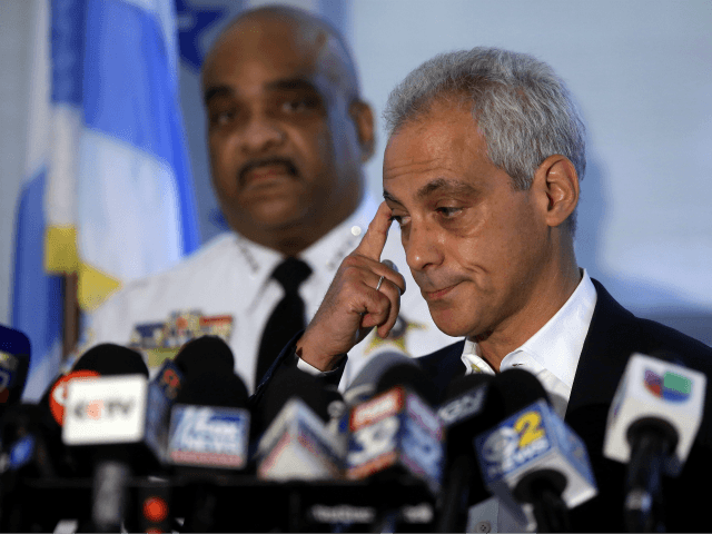 At Least 33 Shot over Weekend in Rahm Emanuel's Chicago