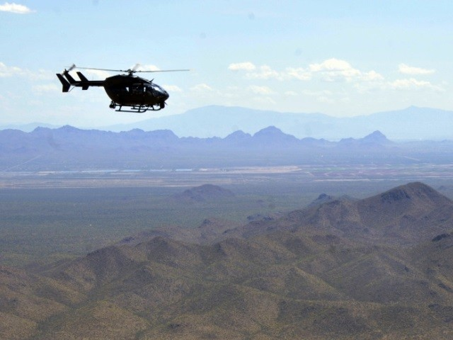 National Guard Aids in Arrest of Illegal Border Crossers in Arizona