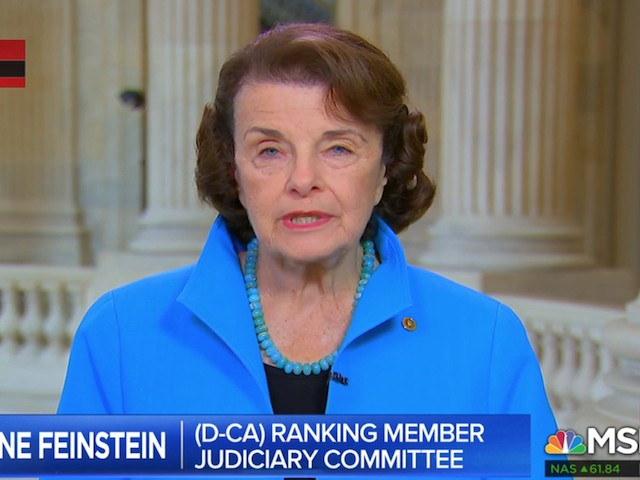 Feinstein: Cohen Said Trump Directed Him to Commit a Felony --- 'That's Obstruction of Justice'