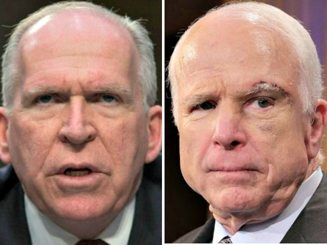 John Brennan: I Had 'Greatest Respect' for John McCain Even Though He 'Hurled Profanities' at Me