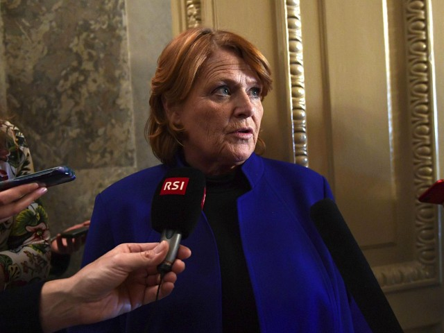 ND Dem Sen. Heitkamp Opposed Trump Tax Cuts, Now Says 'My Vote Belongs to You, Not to a Political Party'