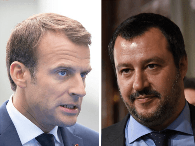 Globalist Macron Vows to Kill Nationalism, While Italy's Salvini Declares EU 'Filth'