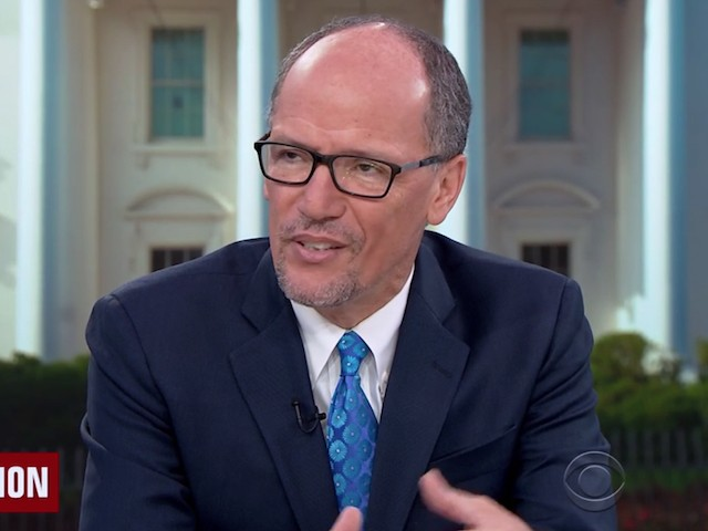 DNC Chair Perez: 'Democracy Is on the Ballot' in November
