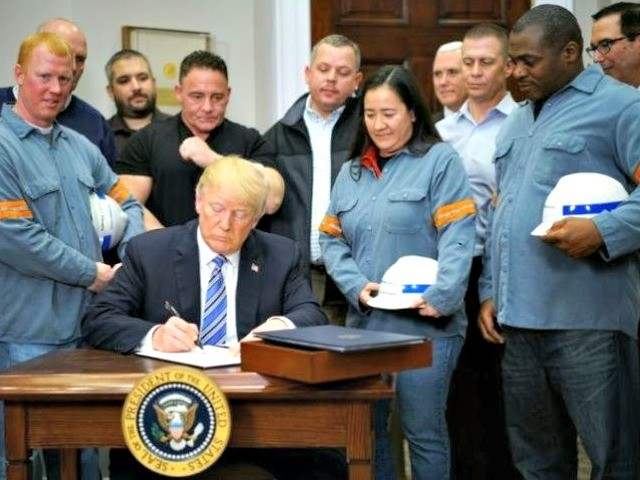 Half of U.S. Business Owners: Trump Tariffs are 'Positive' for Economy