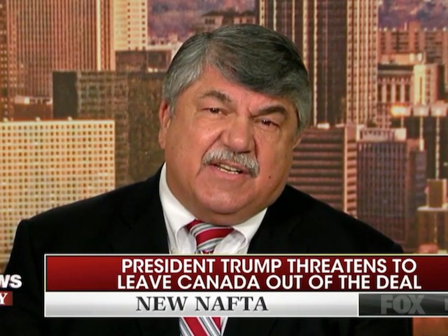 AFL-CIO's Trumka: Trump 'Has Done More to Hurt Workers Than to Help Workers'