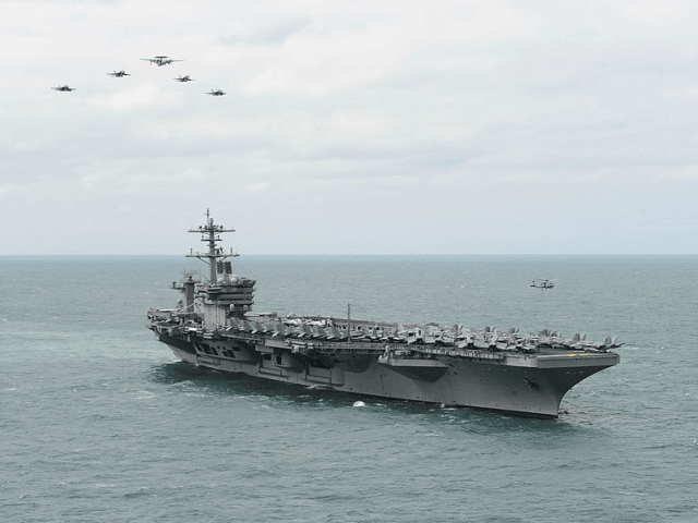 Watch: Iran Video Purports to Show Encounter with U.S. Aircraft Carrier