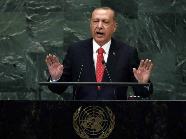 U.N.: Turkey's Erdogan, Citing Islamic Philosopher, Urges End to Fixed Security Council Seats