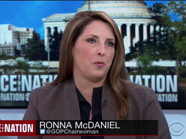 RNC Chair McDaniel: Possible GOP Will Pick Up Senate Seats -- 'Unprecedented in a Midterm of a First-term President'
