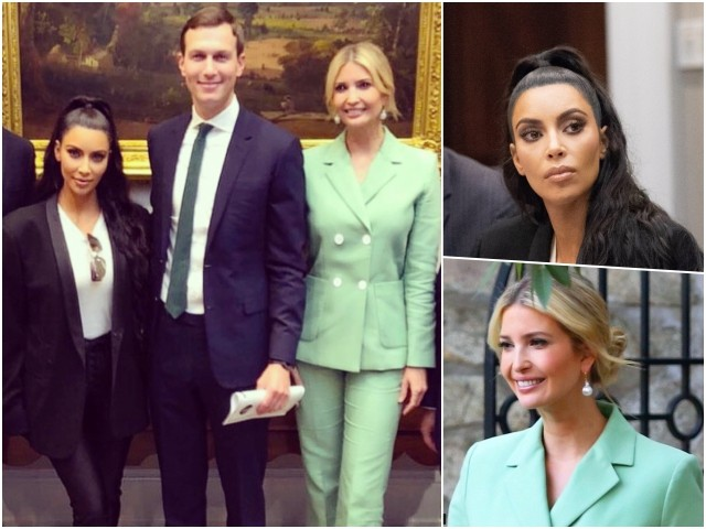 Fashion Notes: Ivanka Trump and Kim Kardashian Suit-Up at the White House