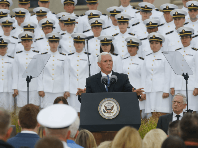 Pence at Pentagon Ensures Americans Born Since 9/11 Know 'What Happened' and 'Why'