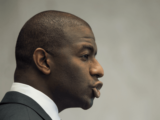 Andrew Gillum Aided Movement that Laments Independence Day, Demands End to 'Disaster Capitalism'