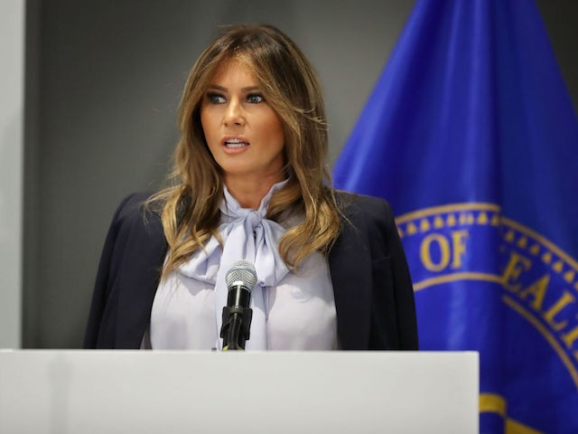 Melania Trump: Deep State Op-ed Author 'Sabotaging' the Country