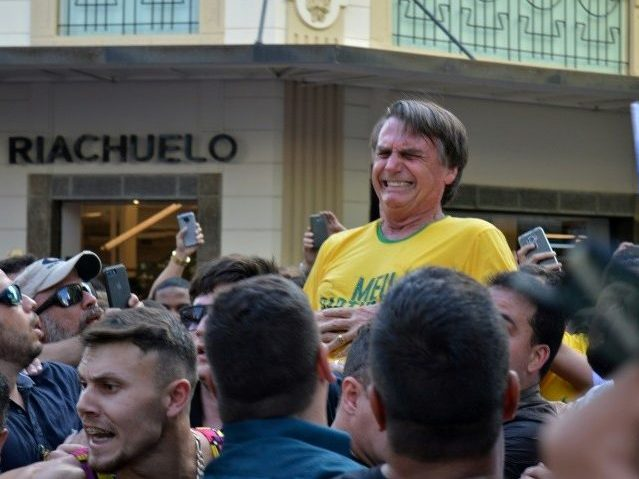Brazilian Paper Blames the Victim: Bolsonaro's 'Extremism,' 'Violent Metaphors' Linked to Public Stabbing