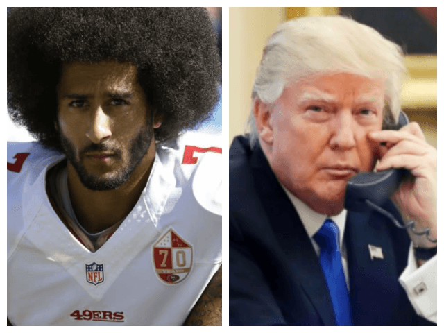 Donald Trump on Colin Kaepernick Ad: 'What Was Nike Thinking?'