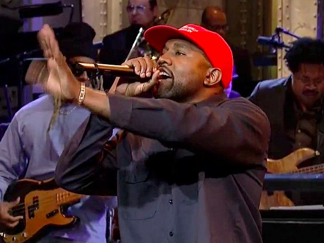 Watch -- Kanye West Rips Democrat Welfare State in Pro-Trump Speech on 'SNL': '90 Percent of News Are Liberal'