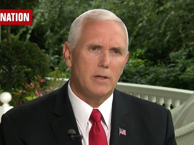 Pence: NYT Op-Ed Is a 'Disgrace' —Times and Author 'Should Be Ashamed'