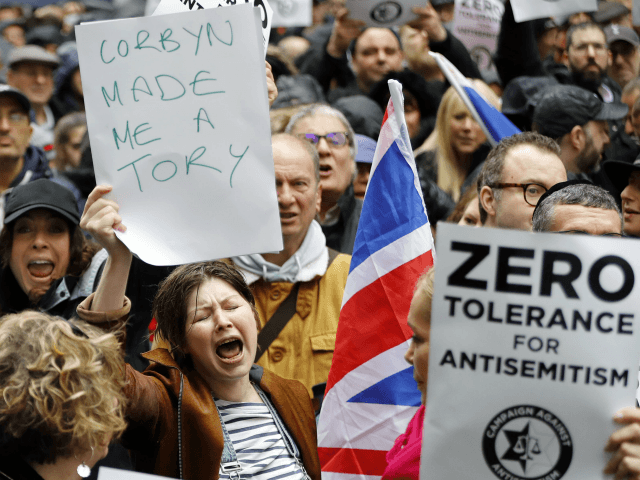 Nasty Party: Poll Shows Labour Anti-Semitism Row Destroying Public Standing