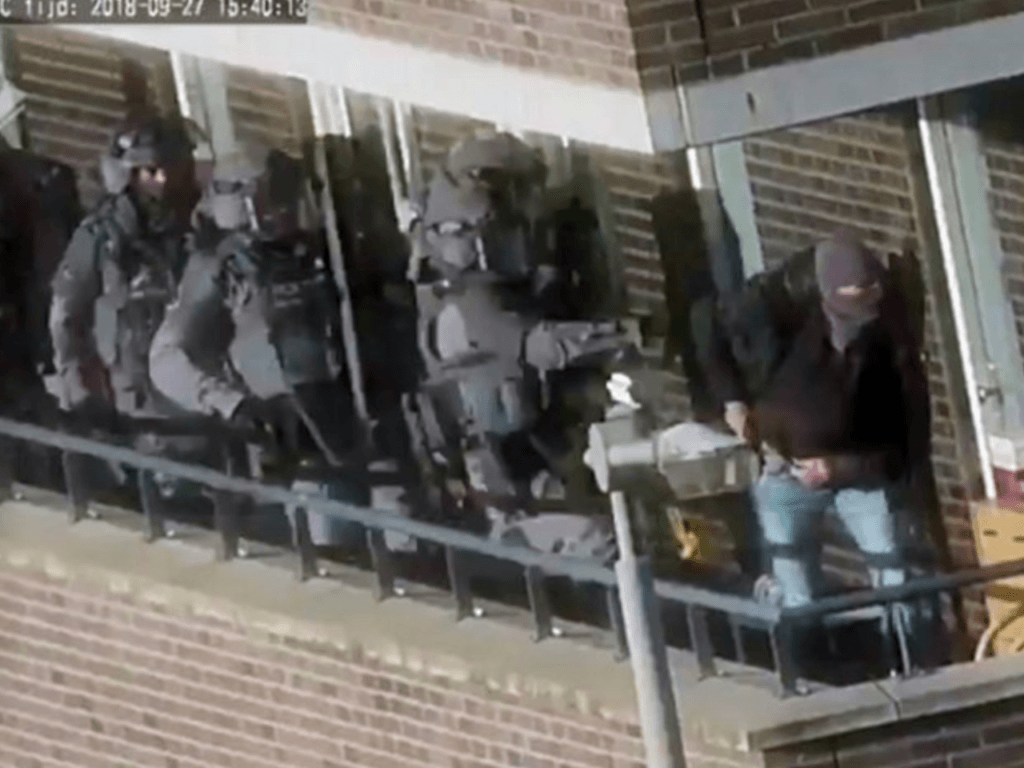 VIDEO: 400 Dutch Police Strike Iraqi-Led Terror Cell Planning Major Attack