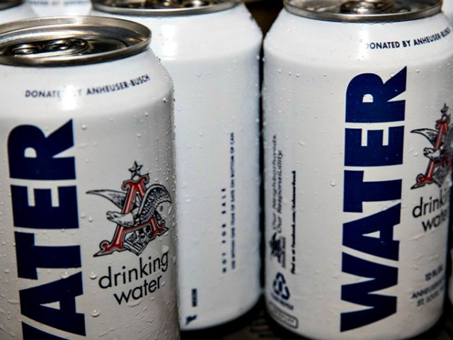 Anheuser-Busch Set to Send 300,000 Cans of Fresh Water to Hurricane Florence Victims