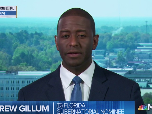 Andrew Gillum: Trump's Jerusalem Embassy Move Was 'Unnecessary' and A 'Provocation'