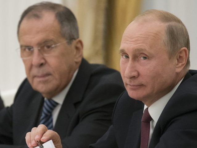 Lavrov at the U.N.: U.S. Using 'Blackmail, Economic Pressure, and Brute Force' Against Russia