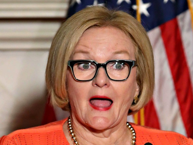 McCaskill Caught on Camera Saying America Needs 'Saving' from Trump