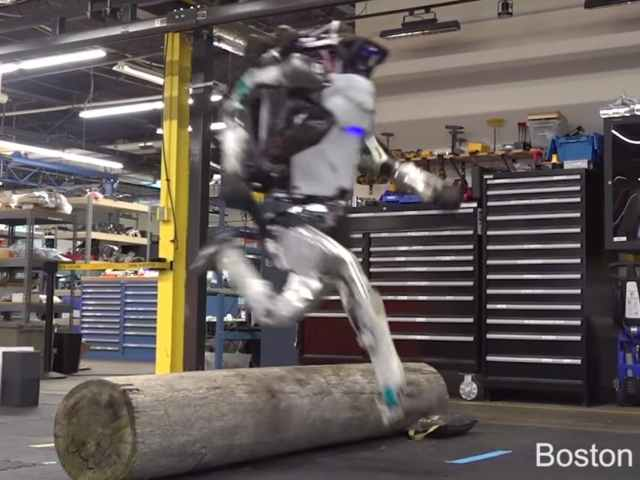 WATCH: Boston Dynamics Robot Leaps Through Parkour Obstacle Course