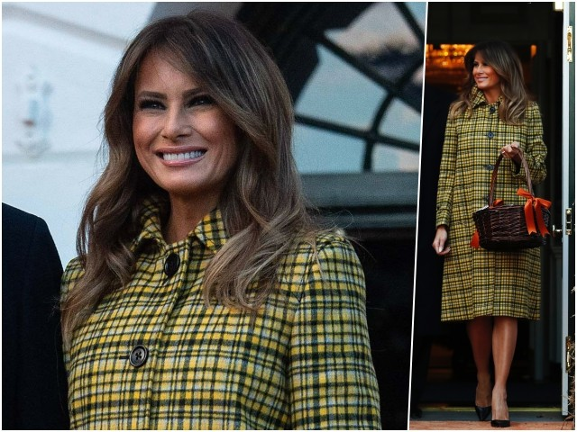 Fashion Notes: Melania Trump Channels Jackie Kennedy for Halloween