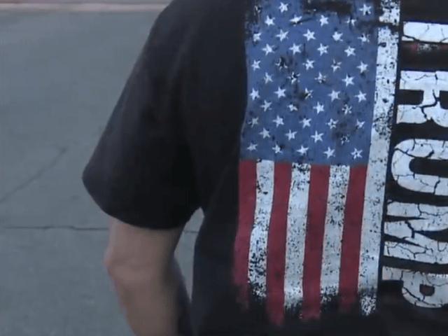 Albuquerque Man Wearing Trump Shirt Turned Away from Voting