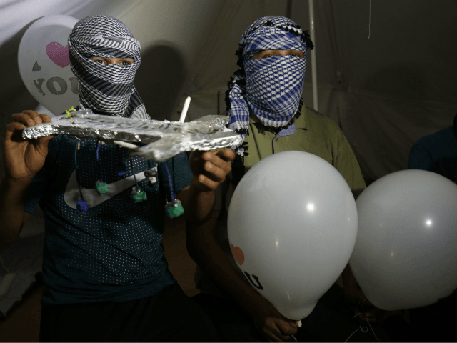 Israeli Military Fires at Gaza Cell Launching Terror Balloons