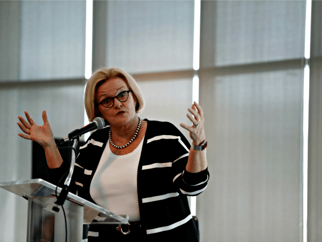 McCaskill: Trump 'Has to Use Every Tool,' Including Possibly Turning Back Migrant Caravan