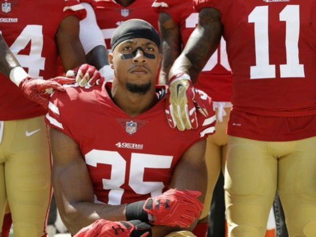 Eric Reid 'Considering Other Ways' of Protesting the Anthem