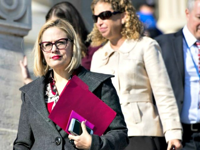 Kyrsten Sinema Running for Senate in Gun-Friendly Arizona, Co-Sponsored Gun Control Just Last Year