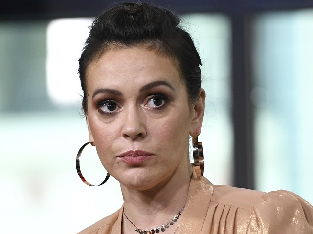 Alyssa Milano: 'I'm Filled with Rage' -- Trump, GOP Institutionalizing Sexual Abuse