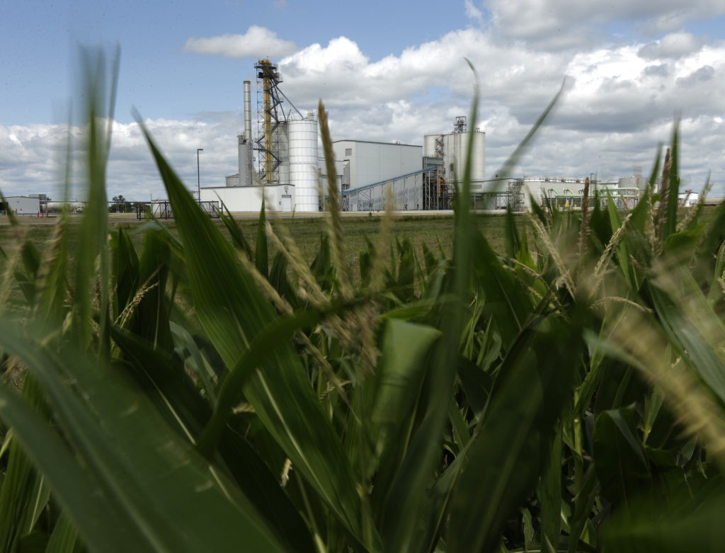 Trump Wades into Ethanol Wars to Support Midwest Farmers