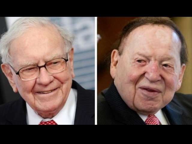 Buffett, Adelson in Spending War over Nevada Ballot Measure on Electricity Supply