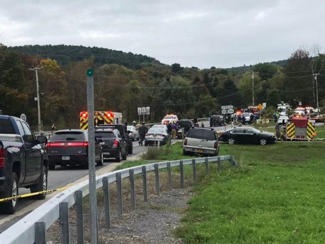 At Least 20 Dead in Upstate New York Limousine Crash