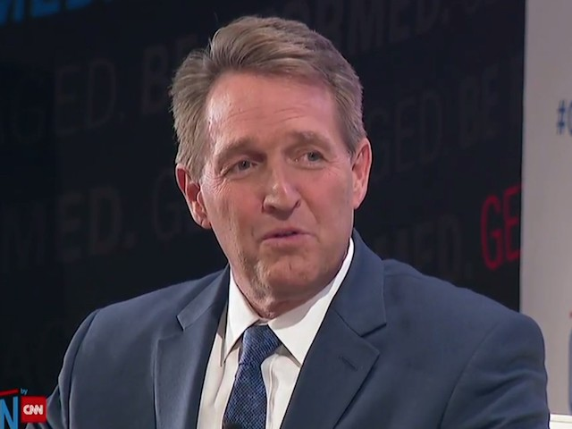 Flake: 'Reaction' of Trump's Base to His Lies Is 'Troubling,' 'Unseemly'