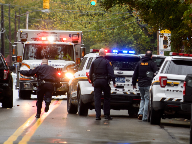 At Least 8 Dead and Officers Shot in Saturday Morning Attack on Pittsburgh Synagogue