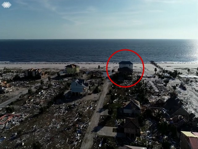 Florida Home Survives Hurricane Michael While Surrounding Houses Destroyed
