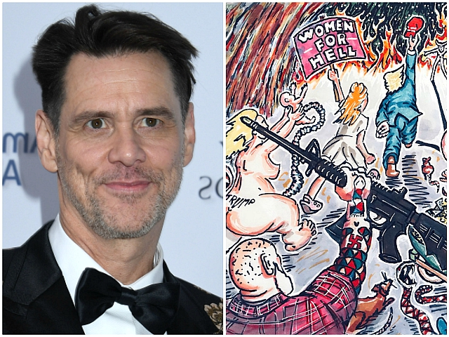Jim Carrey Claims Republicans 'Kidnapping Children' and 'Following Red Hat to Hell'